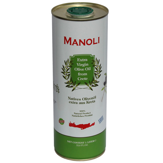 MANOLI Extra natives Olivenöl aus Kreta (1L Dose)